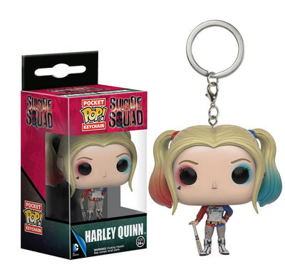 Harley Quinn Movie Pop Keychain