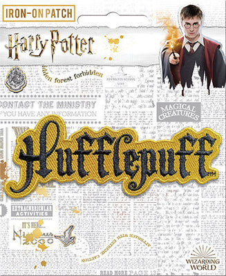 Hufflepuff Name Patch