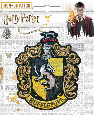 Hufflepuff Crest Patch