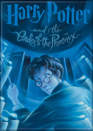 HP and the Order of the Phoenix Cover Magnet