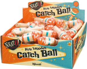 Mini Wooden Catch Ball