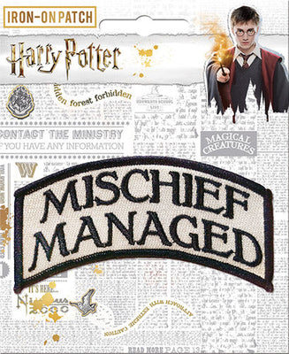 Mischief Managed Patch