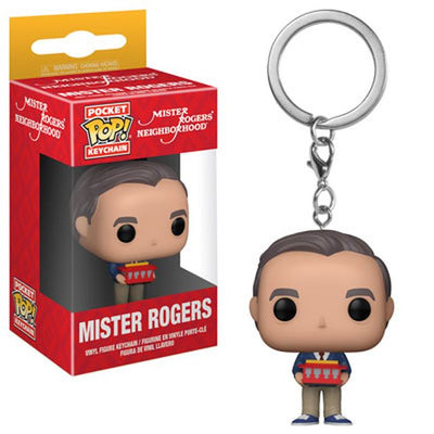Mister Rogers Pop Keychain