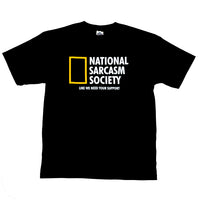 National Sarcasm Tee