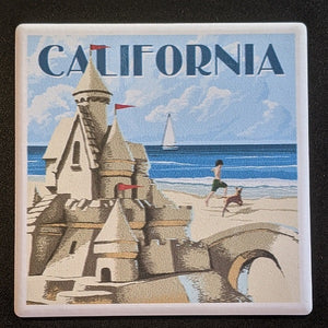 California Sandcastle Coaster
