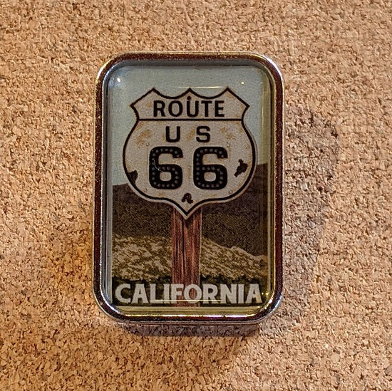 CA Route 66 Pin