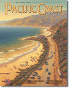 Pacific Coast Tin Sign