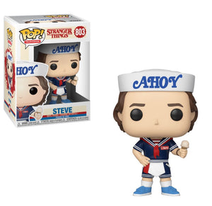 Steve with Hat and Ice Cream Pop Figure