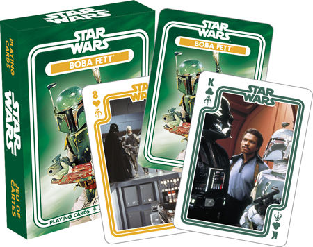 Boba Fett Playing Cards