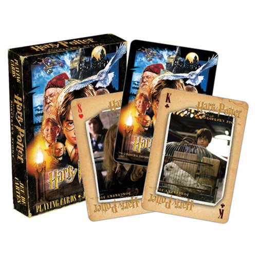 Sorcerer's Stone Playing Cards