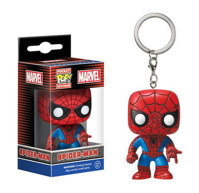 Spider-Man Pop Keychain