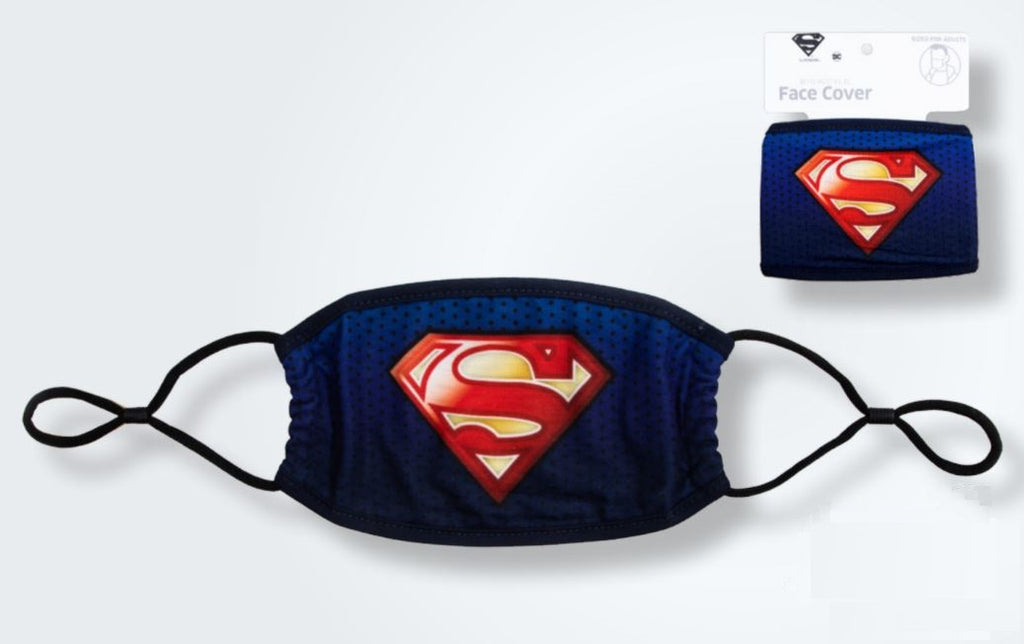 Superman Cloth Face Cover