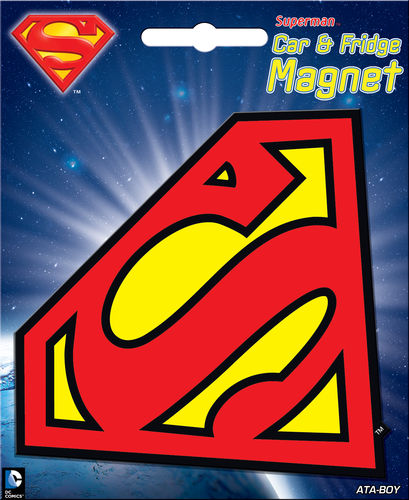 Superman Logo Car Magnet