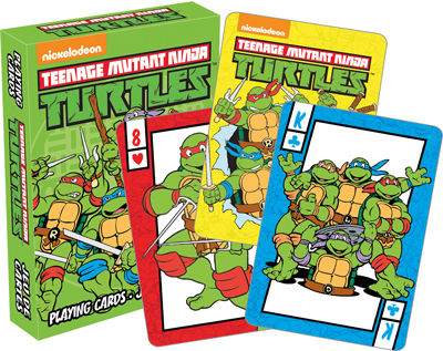 Teenage Mutant Ninjna Turtles Playing Cards