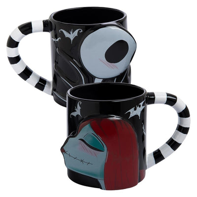 Jack & Sally 2 pc. Mug Set