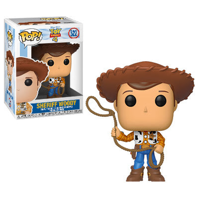 TS4 - Sheriff Woody Pop Figure