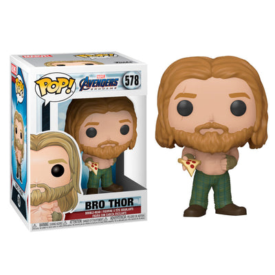 Bro Thor with Pizza Pop Figure