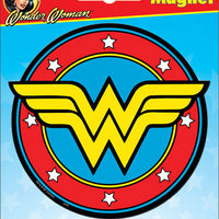 Wonder Woman Logo Car Magnet