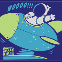 Woo Space Ride Magnet