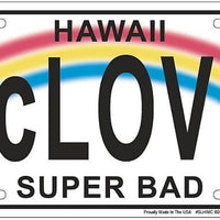 McLovin Hawaii Superbad License Plate