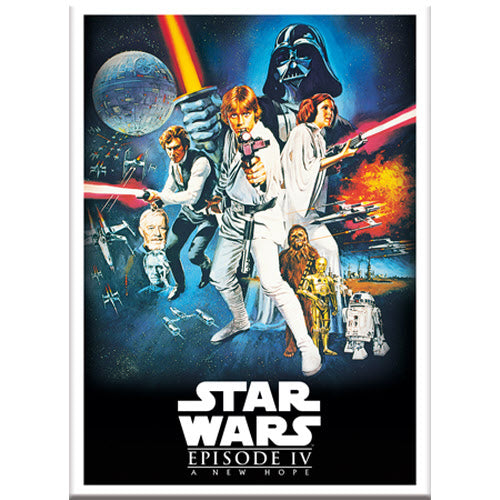 Star Wars Episode IV Poster Magnet