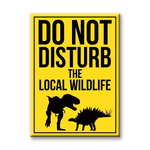 Dinosaurs - Do Not Disturb Magnet