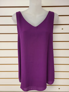 Double Layered Cami - Purple