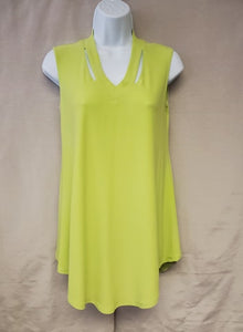 Sleeveless Top – Lime Green