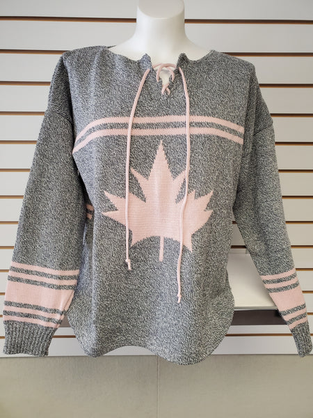 Hockey Sweater Jersey - Grey