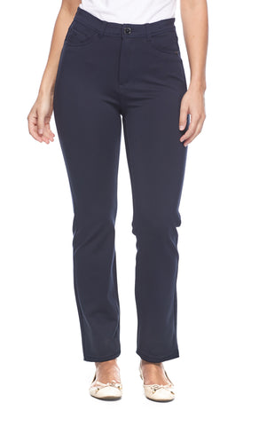 Suzanne Straight Leg - NAVY