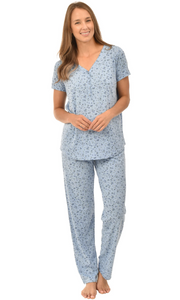 2 Piece Sleep Set - Blue