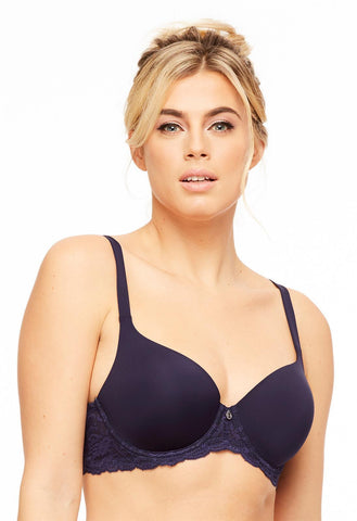 Pure Plus Full Coverage T-Shirt Bra - Astral Blue SALE