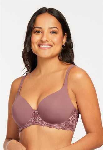 Pure Plus Full Coverage T-Shirt Bra  - Mauve Mist