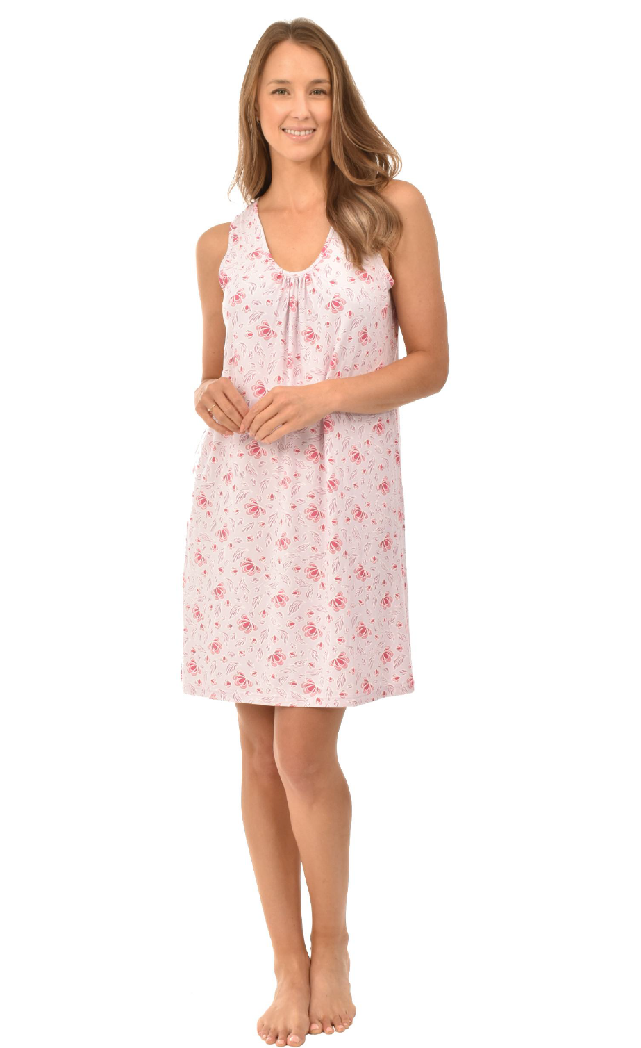 Sleeveless Nightgown - Pink