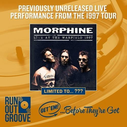 Live At the Warfield 1997:Morphine