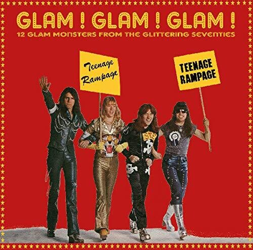 Glam Glam Glam: 12 Glam Monsters Seventies / Var