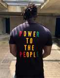 POWER TO THE PEOPLE - RED, GOLD & GREEN