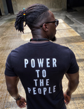 POWER TO THE PEOPLE - WHITE