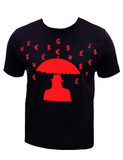 RICH PEOPLE PROBLEMS T-SHIRT - BLACK & RED