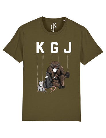 CONTAGION T-SHIRT - ARMY GREEN