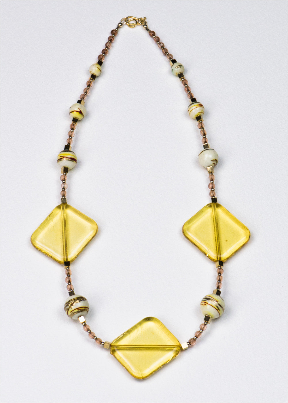 Bold Yellow Necklace