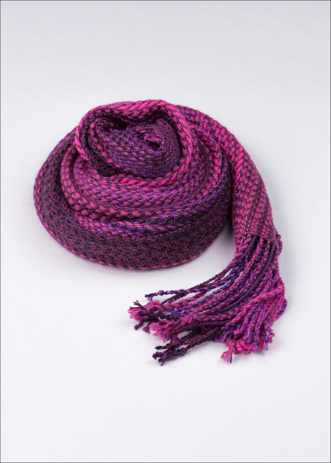 Lilac and Lavendar Silk Scarf