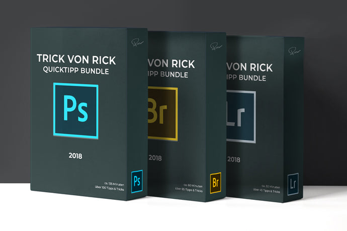 über 200 Quicktipps - Bundle 2018 #Photoshop #Lightroom #Bridge