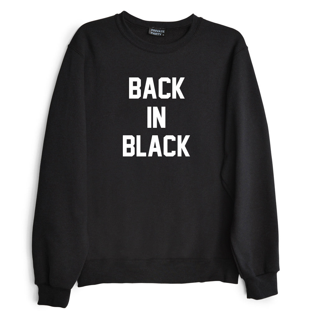 Back in black t shirt - Back In Black