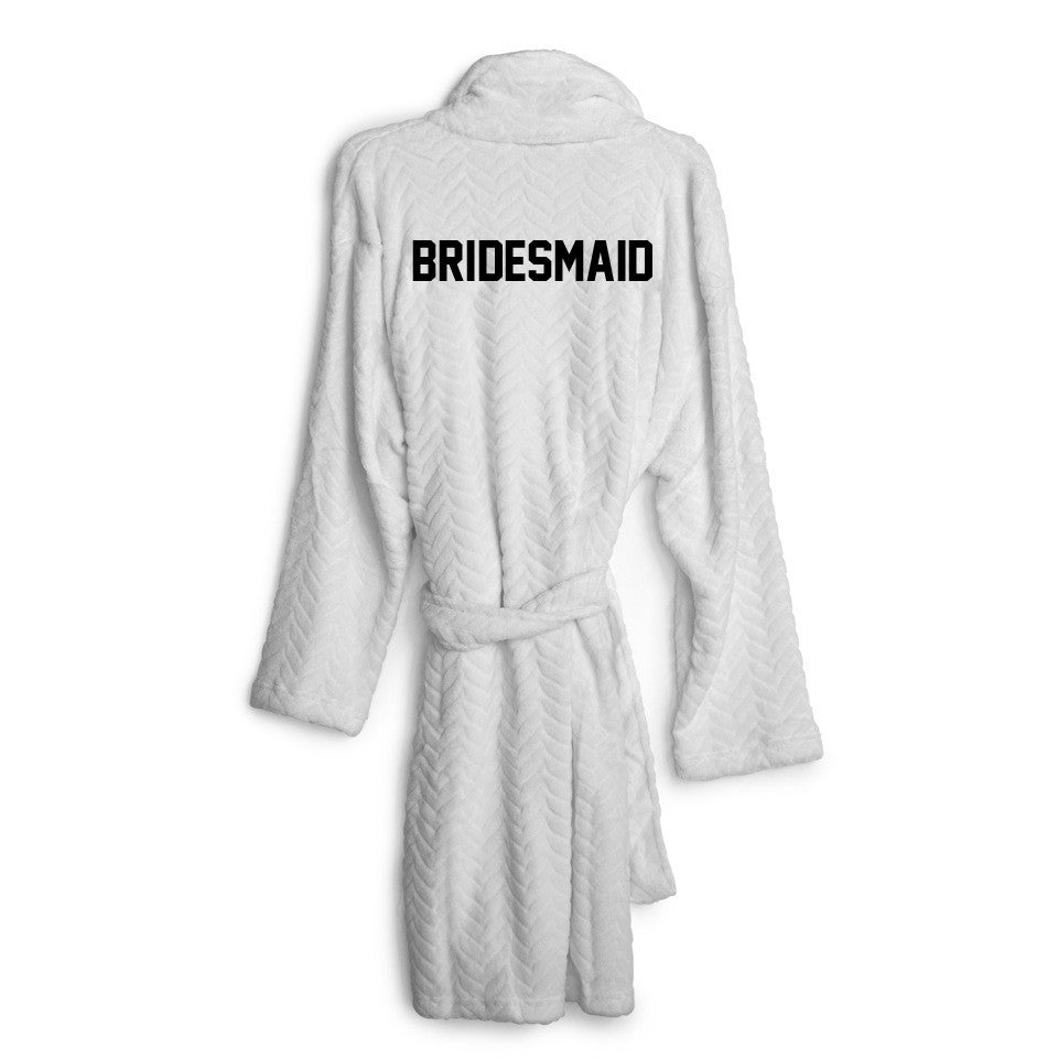 BRIDESMAID [EMBROIDERED ROBE]