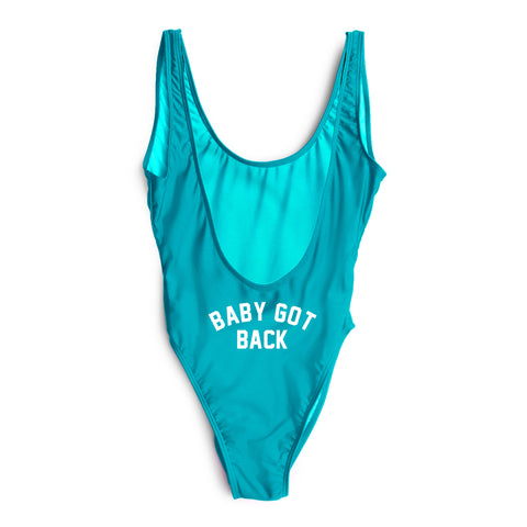 BABY GOT BACK // BUTT PRINT [SWIMSUIT]