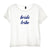 BRIDE TRIBE [DISTRESSED WOMEN'S 'BABY TEE']