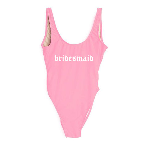 BRIDESMAID // NEW FONT [SWIMSUIT]