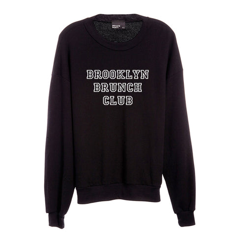 BROOKLYN BRUNCH CLUB [UNISEX CREWNECK SWEATSHIRT]