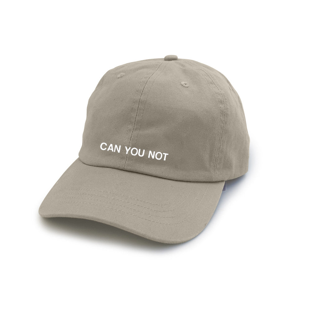CAN YOU NOT [DAD HAT]